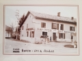 La boulangerie de Burcin des années 50 où on trouvait les gros choux à la crème du Dimanche !